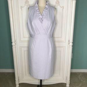 EUC Alex Marie Lilac Striped Cotton Blend Dress